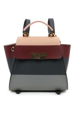 Stripe Eartha Convertible Backpack by ZAC Zac Posen Handbags