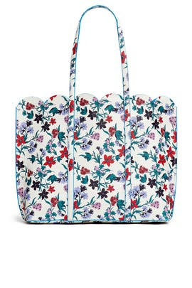 Floral Elliston Tote by Draper James Accessories