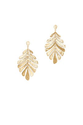 bef50450257a9 kate spade new york accessories A New Leaf Earrings