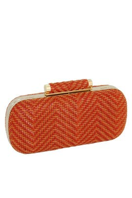 Orange Catalina Minaudiere by Inge Christopher