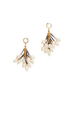 Pearl Fringe Earrings by Nocturne