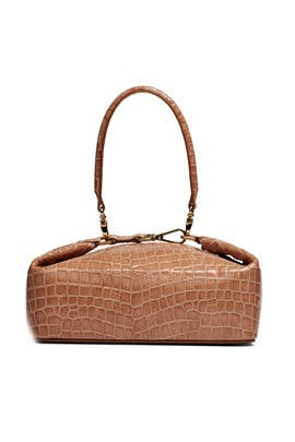 Taupe Olivia Bag by Rejina Pyo Accessories