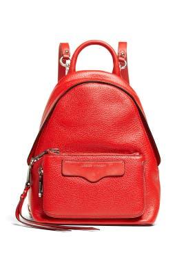 Tomato Emma Mini Convertible Backpack by Rebecca Minkoff Accessories