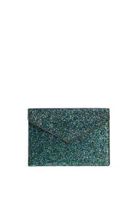 Mermaid Glitter Leo Clutch by Rebecca Minkoff Accessories