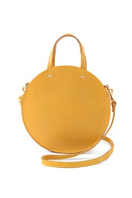 Yellow Petit Alistair Bag by Clare V.