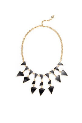 Enamel Geo Drops Necklace by Kenneth Jay Lane