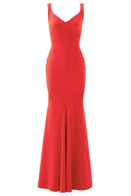 ed9fcf5d Red Whitney Gown by La Petite Robe di Chiara Boni for $160 - $185 | Rent  the Runway