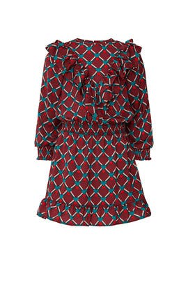 Kids Ruffle Print Dress by Scotch & Soda Kids