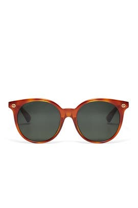 Avana Round Sunglasses by Gucci