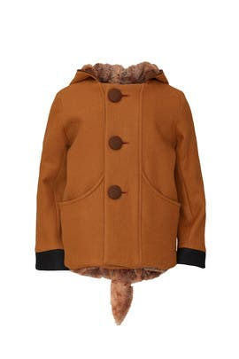 Kids Frolicsome Fawn Coat by Little Goodall