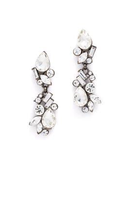 Gunmetal Drop Earrings by RJ Graziano