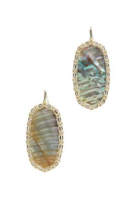 Abalone Danielle Earrings by Kendra Scott