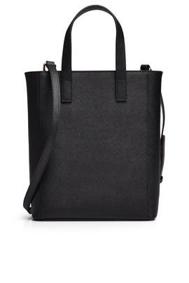 Black Shopper Tote by Tome x TDE