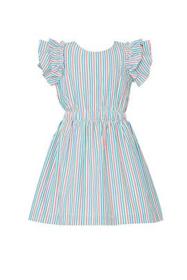 Kids Rainbow Seersucker Dress by Crewcuts by J.Crew