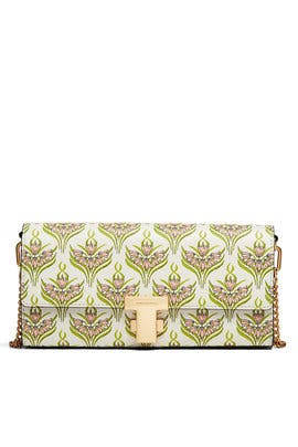 Pink Meridian Juliette Clutch by Tory Burch Accessories