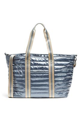 Pearl Grey Wingman Bag by Think Royln