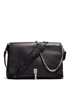 Black Medium Cross Body by Elizabeth and James Accessories