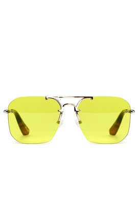 7aac68c3b9 Yellow Mason Sunglasses by Elizabeth and James Accessories