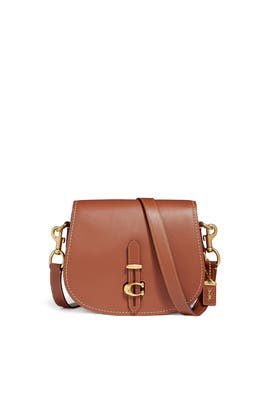 Leather Saddle Bag by Coach Handbags