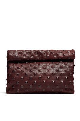 Pyramid Stud Lunch Clutch by Marie Turnor