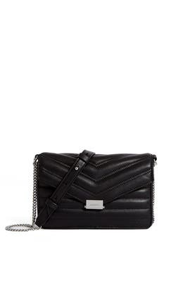 Black Justine Crossbody Bag by AllSaints