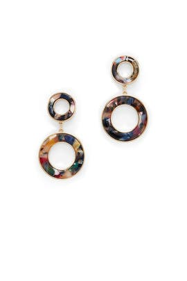Double Circle Drops by Slate & Willow Accessories