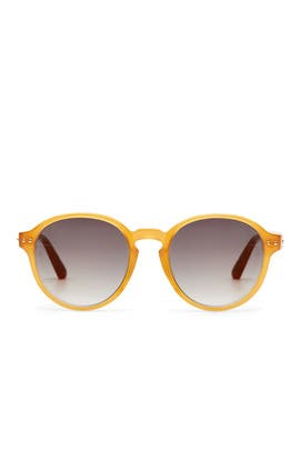 Honey Grey Sunglasses by Linda Farrow