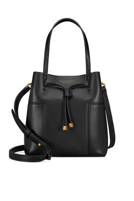 Block T Small Bucket Bag by Tory Burch Accessories