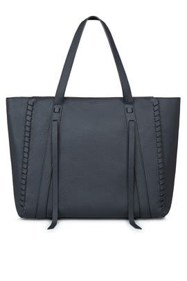 Navy Ray East West Tote by AllSaints