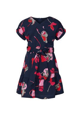 Kids Woven Floral Dress by DVF x Rockets of Awesome Kids