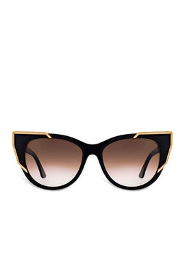 Black Butterscotchy Sunglasses by Thierry Lasry