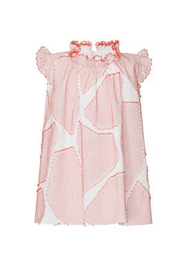 Kids Coral Poppy Dress by Harrison by Hunter Bell