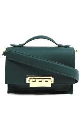 Teal Earthette Bag by ZAC Zac Posen Handbags