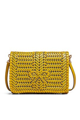 Yellow Neeson Crossbody by Anya Hindmarch