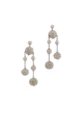 Razzle Dazzle Asymmetrical Earrings by kate spade new york accessories