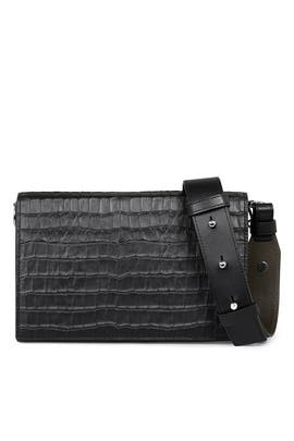Croc Zep Box Bag by AllSaints