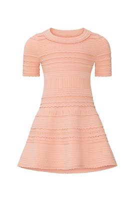 Kids Textured Dahlia Dress by Milly Minis