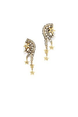 Reach For The Stars Earrings by Erickson Beamon