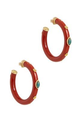 Rogue Malika Earrings by Gas Bijoux