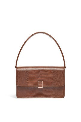 Nutmeg Katalina Leather Shoulder Bag by Loeffler Randall