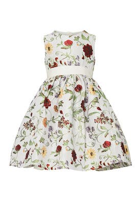 Kids Botanical Dress by Oscar de la Renta Kids