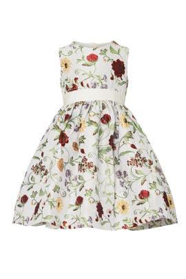 Kids Botanical Dress by Oscar de la Renta Kids