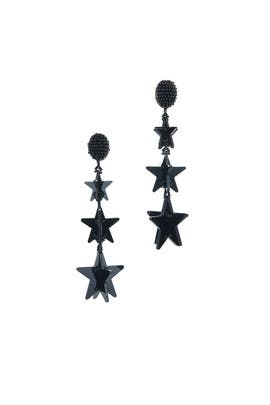 Falling Stars Earrings by Oscar de la Renta