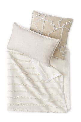 King Fringe Bedding Bundle by West Elm
