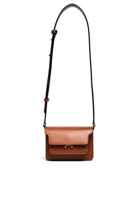 Marron Trunk Shoulder Bag by Marni Accessories