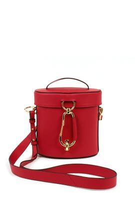 Red Belay Canteen Bag by ZAC Zac Posen Handbags