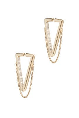Crystal Vera Drop Earrings by DEMARSON