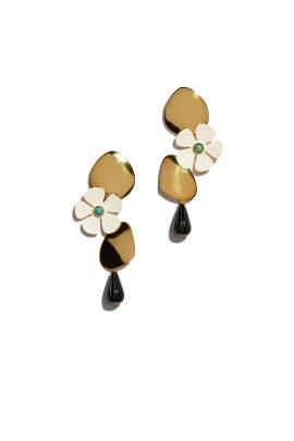 Woodstock Earrings by Lizzie Fortunato