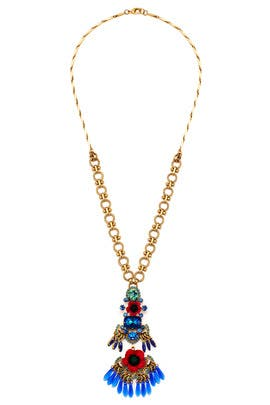 Poppy Benita Necklace by Elizabeth Cole