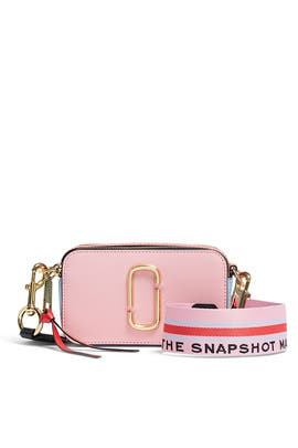 Tart Pink Snapshot Crossbody by Marc Jacobs Handbags